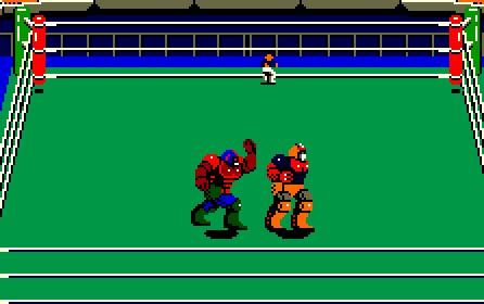 Robo Wrestling