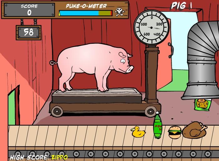 돼지사육 게임
