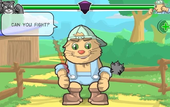싸움꾼 고양이