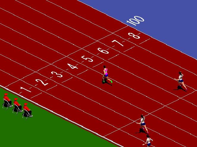 100미터 달리기