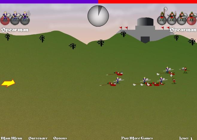 중세전쟁 게임