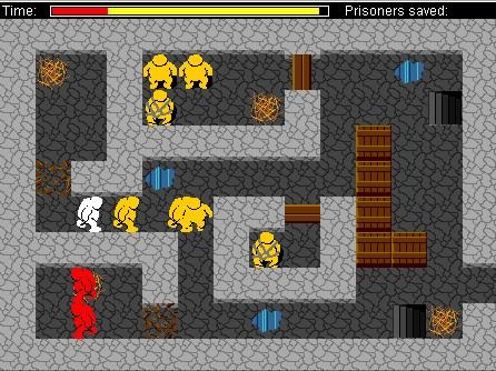 지하감옥 탈출